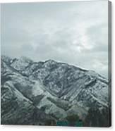 Leaving Salt Lake City Canvas Print