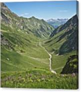 Lechtaler Alpen Madautal Canvas Print