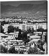 Ledra Palace Hotel Border Crossing Point In Nicosia Lefkosia Republic Of Cyprus Canvas Print