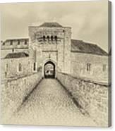 Leeds Castle Nostalgic 3 Canvas Print