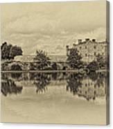 Leeds Castle Nostalgic Canvas Print