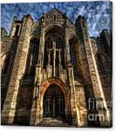 Leeds Cathedral Canvas Print
