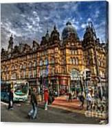 Leeds Kirkgate Market Canvas Print