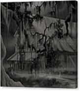 Legend Of The Old House In The Swamp Canvas Print