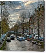 Leidsegracht. Amsterdam Canvas Print