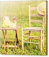 Lemonade Canvas Print