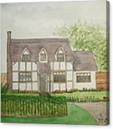 Leominster Cottage Canvas Print