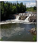Lepreau Falls Canvas Print
