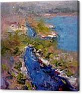 Les Calanques In Morning Canvas Print