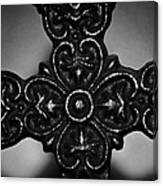 Let Mercy Reign Bw Canvas Print