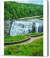 Letchworth Upper Falls Canvas Print