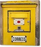 Letterbox Canvas Print