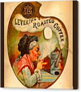 Levering's Roasted Coffee Canvas Print