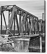 Lewiston-auburn Railroad Bridge Canvas Print