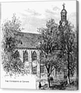 Leyden: University Canvas Print