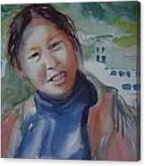 Lhamo-la Canvas Print