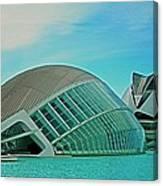L'hemisferic - Valencia Canvas Print