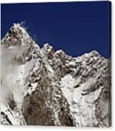 Lhotse And Lhotse Sar Canvas Print