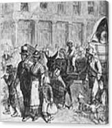 Liberated Slaves, 1861 Canvas Print