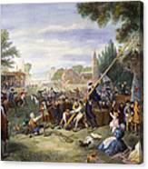 Liberty Pole, 1776 Canvas Print
