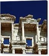 Library Of Celsus In Ephesus Canvas Print