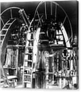 Lick Observatory, Meridian Instrument Canvas Print