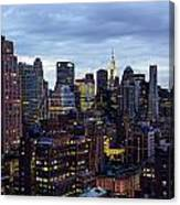 Life In The Big City Canvas Print