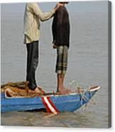 Life On Lake Tonle Sap 4 Canvas Print
