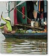 Life On Lake Yonle Sap 9 Canvas Print