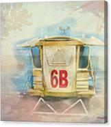 Lifeguard Post No 6b Hookipa State Park Canvas Print