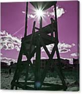 Lifeguard Tower II Canvas Print