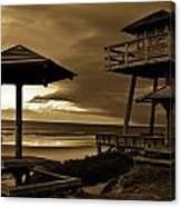 World War II Coastal Watchtower Canvas Print