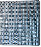 Light Blue And Gray Abstract Canvas Print