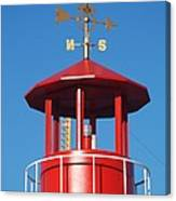 Light House On Coney Island Canvas Print