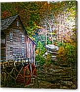 Light On The Mill Canvas Print