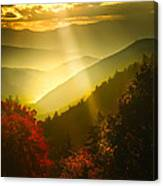 Light On The Moutain Canvas Print
