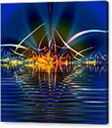 Light On The Water Canvas Print