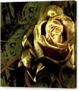 Light Painted Rose Canvas Print