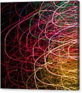 Light Painting 6 Canvas Print