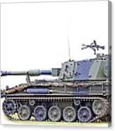 Light Weight Battle Tank Canvas Print
