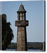 Lighthouse At Lake Chautauqua Canvas Print
