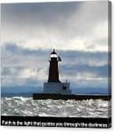Lighthouse Faith Canvas Print
