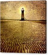 Lighthouse Grunge Canvas Print