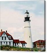 Lighthouse Maine Canvas Print
