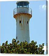 Lighthouse On Grand Turk 2 Canvas Print