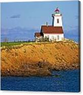 Lighthouse On Prince Edward Island Canvas Print
