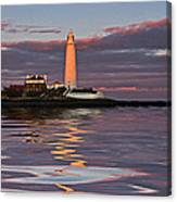 Lighthouse Reflection Canvas Print
