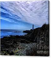 Lighthouse Sky Canvas Print