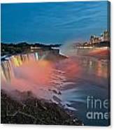 Lights On Niagara Canvas Print