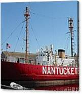 Lightship Nantucket Canvas Print